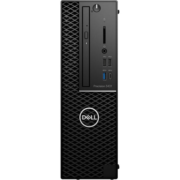 Dell Precision 3431 SFF 16GB 512GB SSD Intel Core i7-9700 X8 3.0GHz Win10, Black (Scratch and Dent)