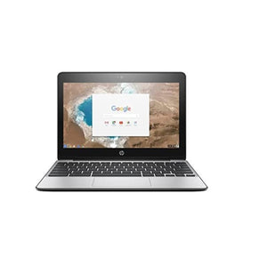 "HP Chromebook 11-V069 11.6"" 4GB 16GB Intel Celeron N3060 X2 1.6GHz Chrome OS, Ash Gray"