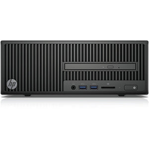 HP 280 G2 Intel Core i5-6500 X4 3.2GHz 4GB 500GB Win10, Black (Certified Refurbished)