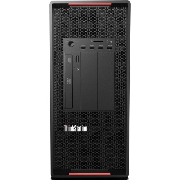 Lenovo ThinkStation P920 Tower 16GB 512GB SSD Intel Xeon Silver 4112, Black (Certified Refurbished)