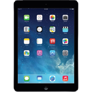 "Apple iPad Air MD785LL/A 9.7"" 16GB WiFi, Space Gray (Certified Refurbished)"