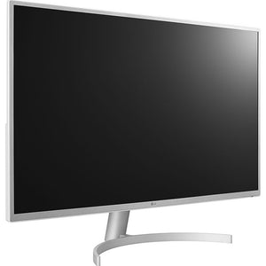 "LG 32BK50Q-W QHD LED IPS 32"" Monitor With FreeSync, Black (Certified Refurbished)"