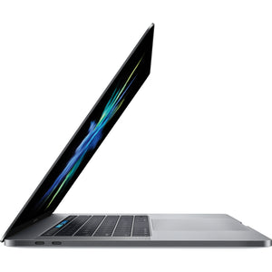 "Apple MacBook Pro MPTR2LL/A 15.4"" 16GB 256GB i7-7700HQ, Space Gray (Certified Refurbished)"