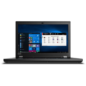 "Lenovo ThinkPad P53 Workstation 15.6"" Touch 16GB 512GB X6 2.6GHz, Black (Certified Refurbished)"