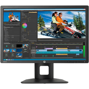 "HP Z24i 1920 x 1200 24"" IPS Monitor, Black"