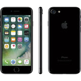 "Apple iPhone 7 128GB 4.7"" 4G LTE Verizon Unlocked, Jet Black (Refurbished)"