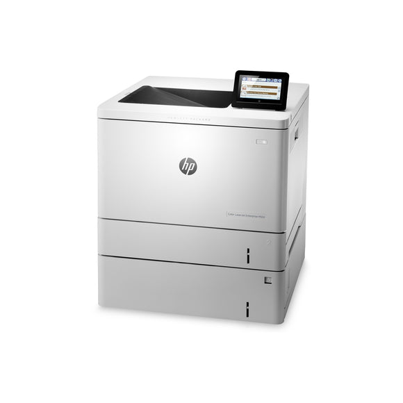 HP Color LaserJet Enterprise M553x Printer, White (Certified Refurbished)