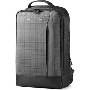 "HP Slim Backpack Carry Case for Laptops up to 15.6"", Gray/Black"