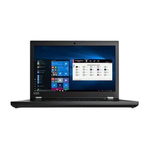 "Lenovo ThinkPad P53 Workstation 15.6"" Touch 64GB 1TB X6 2.8GHz Win10, Black (Certified Refurbished)"