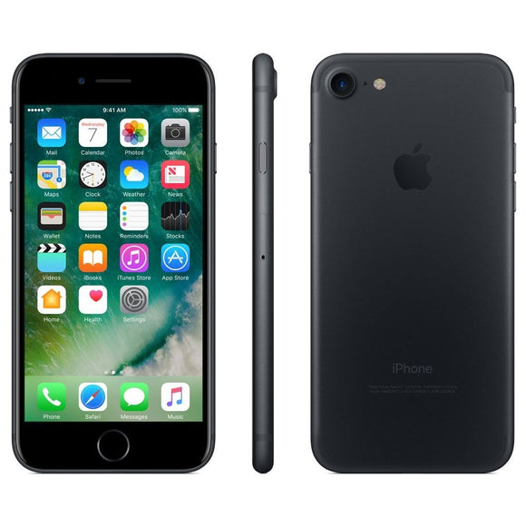 Apple iPhone 7 128GB iOS Unlocked, Black (Scratch and Dent)