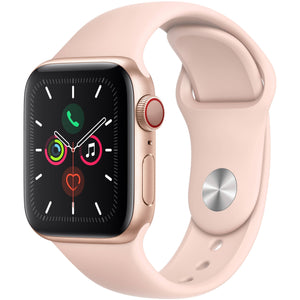 Apple Watch Series 5 (GPS + Cellular) 40mm Aluminum Case, Gold