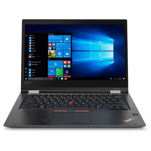 "Lenovo ThinkPad X380 Yoga 13.3"" Touch 8GB 256GB Intel Core i7-8550U X4 1.8GHz, Black (Refurbished)"