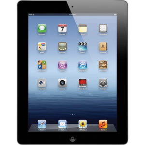 "Apple iPad 3rd Gen MC706LL/A 9.7"" 32GB WiFi, Black/Silver (Refurbished)"