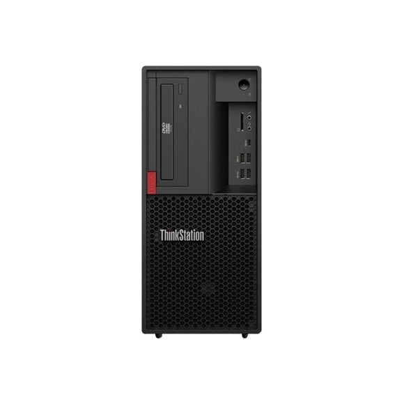 Lenovo ThinkStation P330 gen 2 Tower Workstation 16GB 512GB SSD Win10, Black (Certified Refurbished)