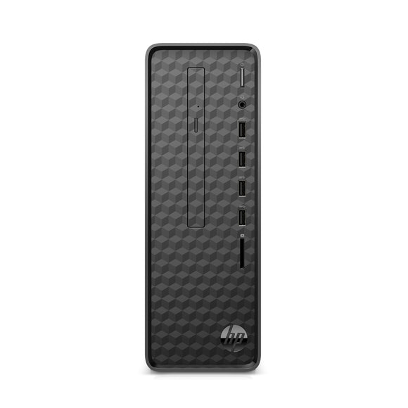 HP Slimline S01-PF1013W Tower 4GB 1TB Intel Celeron G5900 X2 3.4GHz, Black (Certified Refurbished)