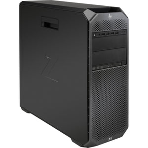 HP Z6 G4 Tower Workstation 16GB 500GB Intel Xeon Silver 4108 X8 1.8GHz Win10, Black