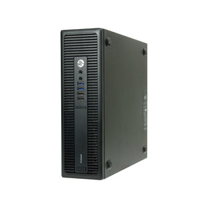 HP ProDesk 600 G2 SFF 16GB 480GB SSD Intel Core i5-6500 X4 3.2GHz Win10, Black (Scratch and Dent)