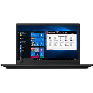"Lenovo ThinkPad P1 (2nd Gen) 15.6"" 32GB 1TB Intel Core i7-9850H Win10, Black (Certified Refurbished)"