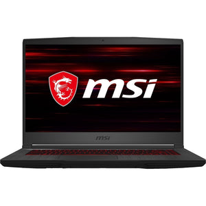 "MSI COMPUTER GF65 Thin 15.6"" 8GB 512GB Intel Core i7-10750H X6 2.6GHz, Black (Certified Refurbished)"