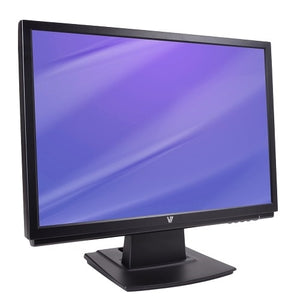 "V7 D22W12A 1680 x 1050 5.5"" LCD Monitor, Black (Certified Refurbished)"