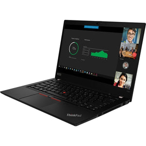 "Lenovo ThinkPad T490 14"" Touch 16GB 512GB Intel Core i7-8665U Win10, Black (Certified Refurbished)"
