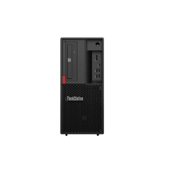Lenovo ThinkStation P330 Tower Workstation 8GB 1TB Intel Xeon E-2104G, Black (Certified Refurbished)