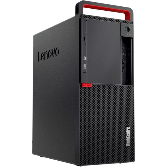 Lenovo ThinkCentre M910 Tower 16GB 512GB SSD Intel Core i5-7600 Win10, Black (Certified Refurbished)