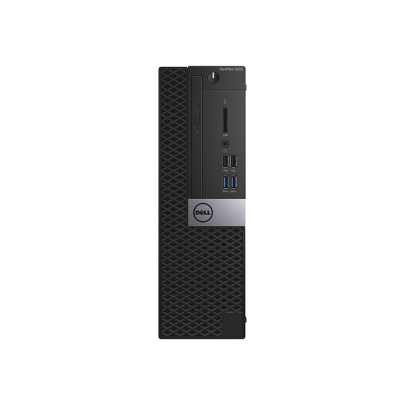 Dell Optiplex 5055 SFF 16GB 512GB SSD AMD Ryzen 3 2200G X4 3.5GHz Pro, Black (Certified Refurbished)
