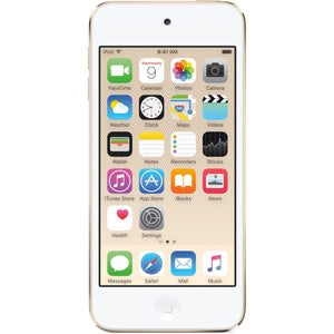 "Apple iPod Touch 6th Gen MKWM2VC/A 128GB 4"", Gold"