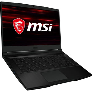 "MSI COMPUTER GF63 Thin 15.6"" 8GB 256GB Intel Core i5-9300H X4 2.4GHz, Black (Certified Refurbished)"