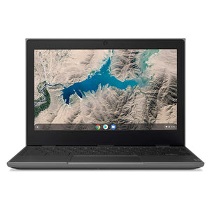 "Lenovo Chromebook 100e 11.6"" 4GB 16GB MediaTek MT8173c X2 1.3GHz, Black (Certified Refurbished)"