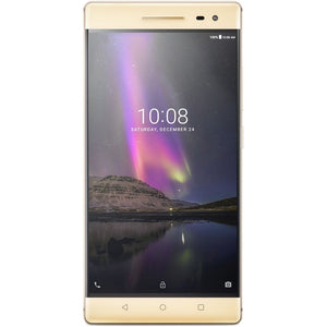 "Lenovo Phab 2 Pro 64GB 6.4"" 4G LTE GSM Unlocked, Champagne Gold (Certified Refurbished)"