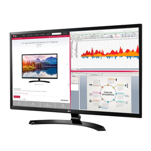 "LG 32MA70HY-P 1080p 32"" IPS Monitor, Black (Certified Refurbished)"