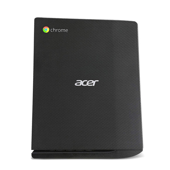 Acer Chromebox CX12-4GKM MicroTower 4GB 16GB SSD Intel Celeron 3205U X2 1.5GHz, Black (Refurbished)