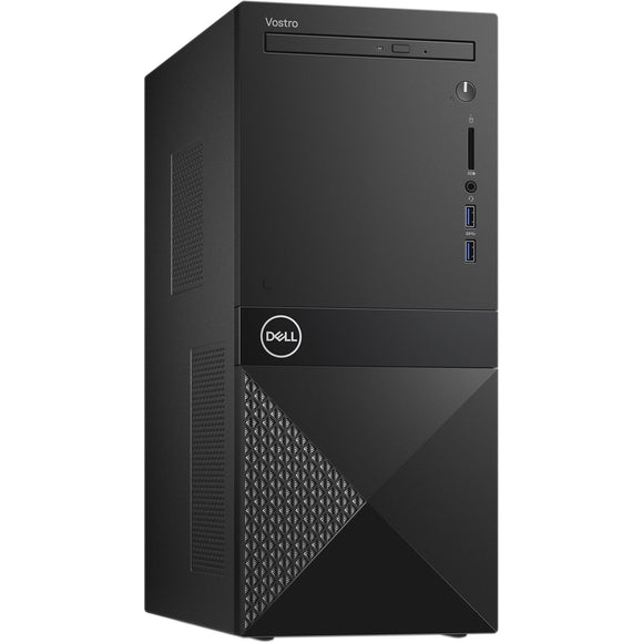Dell Vostro 3671 MT 8GB 256GB SSD intel core i5-9400 X6 2.9GHz Win10, Black (Certified Refurbished)