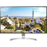 "LG 32MU99-W 4K UHD IPS 32"" Monitor with FreeSync, Silver (Certified Refurbished)"