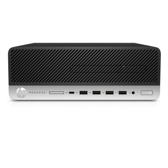 HP ProDesk 600 G4 SFF 8GB 1TB Intel Core i5-8500 X6 3.0GHz Win10, Black (Certified Refurbished)
