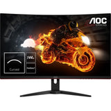 "AOC C32G1 1080p 31.5"" Curved LCD FreeSync Monitor, Black"