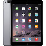 "Apple iPad Air 2 MH2M2LL/A 9.7"" Tablet 64GB WiFi + 4G LTE, Space Gray (Certified Refurbished)"
