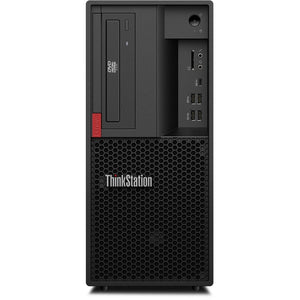 Lenovo ThinkStation P330 Tower Workstation 16GB 256GB SSD X4 3.5GHz, Black (Certified Refurbished)