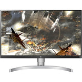 "LG 27UK650-W 4k 27"" IPS FreeSync Monitor, White"