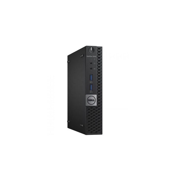 Dell Optiplex 3040 8GB 256GB SSD Intel Core i3-6100T X2 3.2GHz Win10, Black (Certified Refurbished)