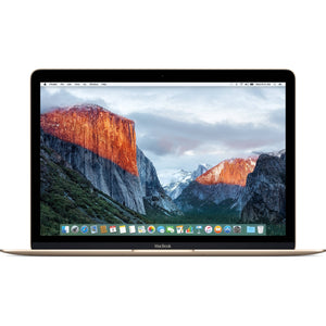 "Apple MacBook MLHE2LL/A Intel Core M3-6Y30 X2 1.1GHz 8GB 256GB SSD 12"", Gold (Scratch and Dent)"