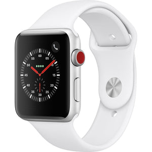 Apple Watch Series 3 (GPS + Cellular) 42mm Aluminum Case, Silver