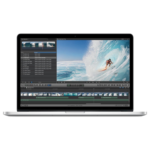 Apple MacBook Pro MC975LL/A Intel Core i7-3615QM X4 2.3GHz 8GB 256GB SSD, Silver (Scratch and Dent)