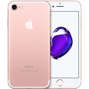 "Apple iPhone 7 128GB 4.7"" 4G LTE Verizon Unlocked, Rose Gold (Refurbished)"