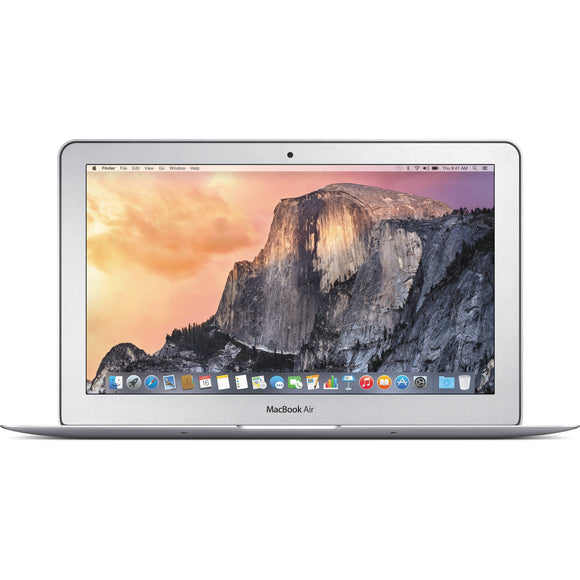 Apple MacBook Air MJVR2LL/A Intel Core i7-5650U X2 2.2GHz 8GB 512GB SSD, Silver (Scratch and Dent)