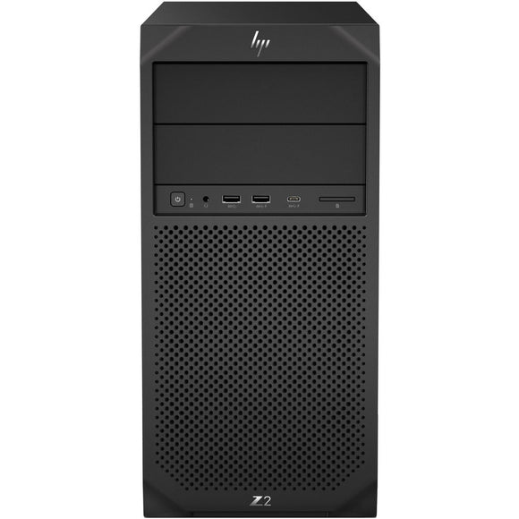 HP Z2 G4 Tower 8GB 1TB Intel Core i5-8500 X6 3.0GHz Win10, Black (Certified Refurbished)