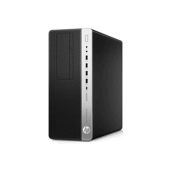 HP EliteDesk 800 G5 Tower 8GB 1TB Intel Core i7-9700 X8 3GHz Win10, Black