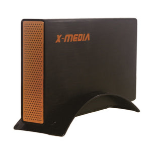"X-Media XM-EN3251U3-BK 3.5"" SuperSpeed USB 3.0 Aluminum Case External SATA HDD Enclosure, Black"